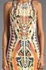 Rider Print Dress, view 5, click to view large image.