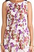 Abril Orchid Printed Tank Dress, view 5, click to view large image.
