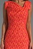 Jackie-O Cotton Raschel Lace Dress, view 5, click to view large image.