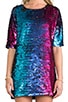 Sequins Shift Dress, view 5, click to view large image.