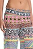 Aztec Pants, view 5, click to view large image.