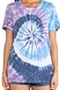 Tie Dye Tshirt, view 4, click to view large image.