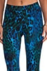 x Stephanie Printed Bengal Tiger Legging, view 4, click to view large image.