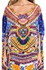 Round Neck Caftan, view 4, click to view large image.