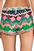 Frilled Hem Shorts, view 6, click to view large image.