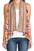 Worry Dolly Waistcoat Vest, view 3, click to view large image.