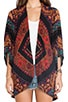 May Fringe Kimono, view 4, click to view large image.