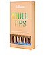 That 70's Chill Chill Tips Press-On Nails, view 1, click to view large image.
