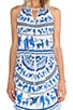 Corinthian Vase Dress, view 5, click to view large image.