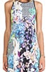 Enchanted Garden Jersey Maxi Dress, view 4, click to view large image.