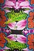 Orchid Trip Neoprene Dress, view 6, click to view large image.