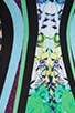 Graphic Flowers Neoprene Dress, view 6, click to view large image.