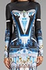 Crystal Palace Neoprene Dress, view 5, click to view large image.