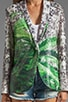 How High Sequins Blazer, view 4, click to view large image.