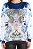 Crystal Corset Sweatshirt, view 4, click to view large image.