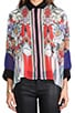 Flower Tracers Blouse, view 5, click to view large image.