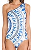 Corinthian Vase Bathing Suit, view 4, click to view large image.