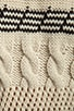 Arrow Cable Chunky Sweater, view 5, click to view large image.