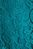 Tamia Teal Lace Tank Dress, view 6, click to view large image.