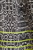 Hanni Highlighted Snake Dress, view 6, click to view large image.