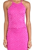 Passion Lace Racer Dress, view 4, click to view large image.