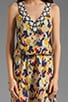 Diane Ikat Dress, view 5, click to view large image.