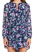 Floral Romper, view 5, click to view large image.