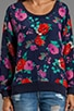 Rose Garden Pullover, view 3, click to view large image.