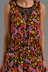 Vineyard Floral Romper n Black, view 5, click to view large image.