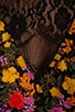 Vineyard Floral Romper n Black, view 6, click to view large image.