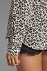 Kitten Leopard Printed Blouse, view 4, click to view large image.