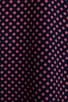 Punctual Dot Printed Signature Blouse, view 6, click to view large image.