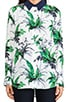 Reese Paradise Palm Print Blouse, view 4, click to view large image.