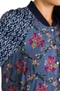 Floral Printed Baseball Jacket, view 6, click to view large image.