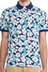 Floral Polo, view 4, click to view large image.