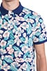 Floral Polo, view 5, click to view large image.