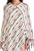 Jessie Poncho Sweater, view 4, click to view large image.