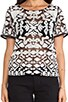 Chloe Embroidered Top, view 4, click to view large image.