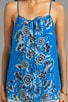 Alana Floral Silk Tank, view 3, click to view large image.