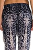 Printed Silk Perfect Pant, view 6, click to view large image.
