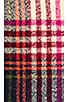 Bright Plaid Scarf, view 4, click to view large image.