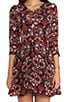 Jane Silk Floral Dress, view 5, click to view large image.