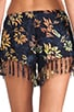 Playa Drawstring Fringe Short, view 6, click to view large image.