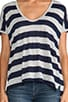 Camper Stripe Tee, view 4, click to view large image.
