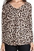 Bold Leopard Print Chyanne Sweater, view 4, click to view large image.