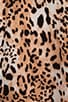 Gradient Leopard Print Silk Drew C Tank, view 5, click to view large image.