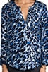 Deon Animal Print Blouse, view 4, click to view large image.