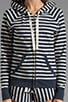 Harbor Stripe Hoodie, view 3, click to view large image.
