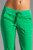 Velour Bling Snap Pocket Pant, view 4, click to view large image.
