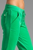 Velour Bling Snap Pocket Pant, view 5, click to view large image.